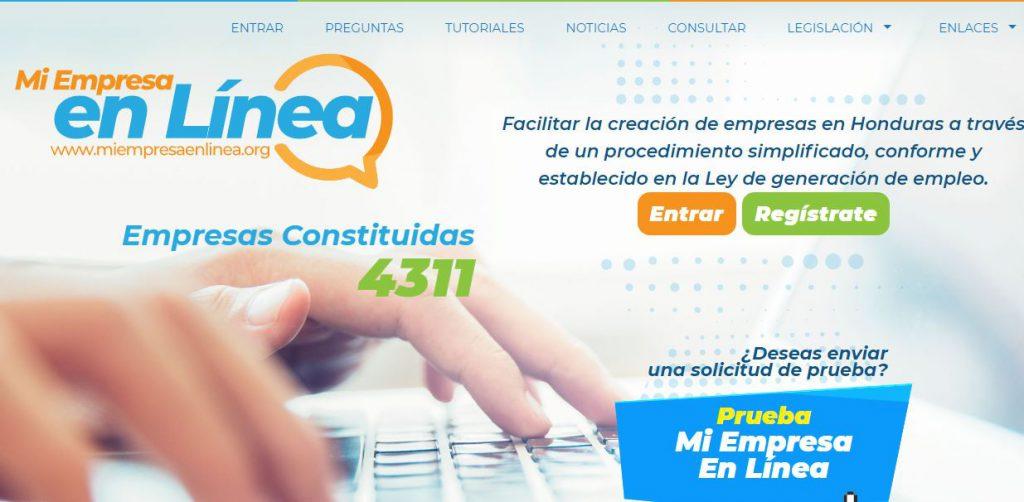 Honduras: Como registrar una nueva empresa en linea – Blog de QuickERP